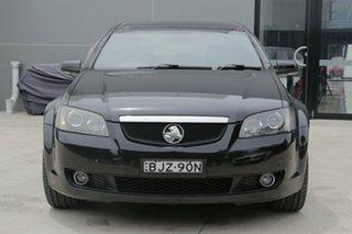 2009 Holden Calais V V Black Sports Automatic Sedan