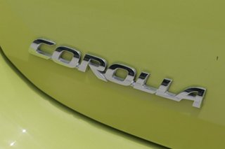 2017 Toyota Corolla Ascent Sport Ascent Sport Yellow Constant Variable Hatchback