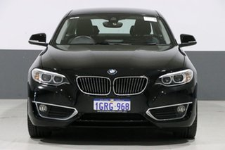 2016 BMW 220i F22 MY16 Luxury Line Black 6 Speed Manual Coupe.