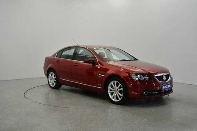 Used Holden Calais VE II MY12 , 2011 Holden Calais VE II MY12 Red 6 Speed Sports Automatic Sedan