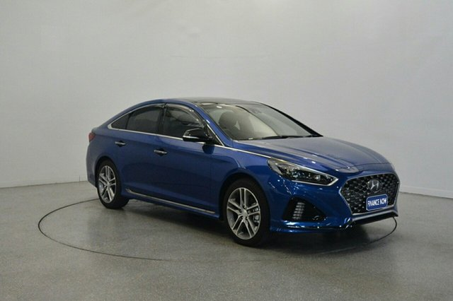 Used Hyundai Sonata LF4 MY18 Premium, 2018 Hyundai Sonata LF4 MY18 Premium Blue Sapphire 8 Speed Sports Automatic Sedan