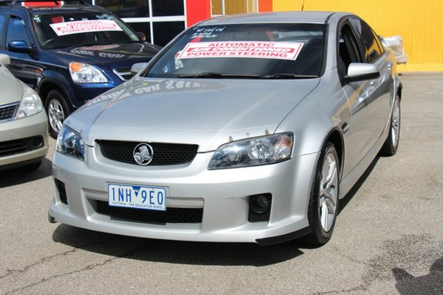 Used Holden Commodore VE MY09 SV6, 2008 Holden Commodore VE MY09 SV6 Silver 5 Speed Sports Automatic Sedan