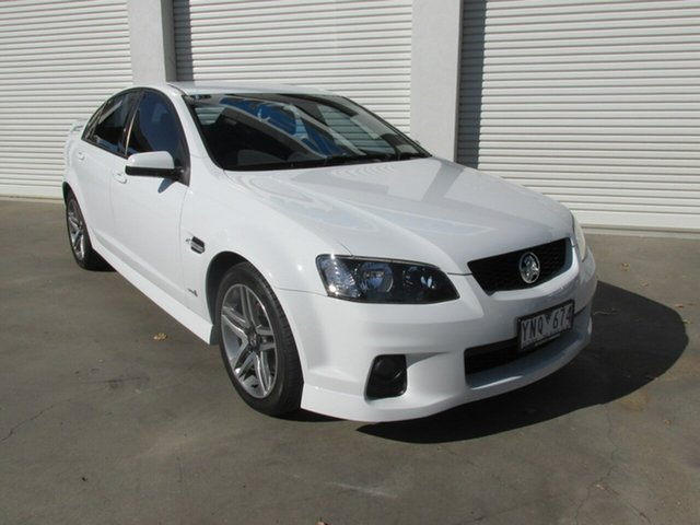 Used Holden Commodore VE II MY12 SV6, 2011 Holden Commodore VE II MY12 SV6 White 6 Speed Sports Automatic Sedan