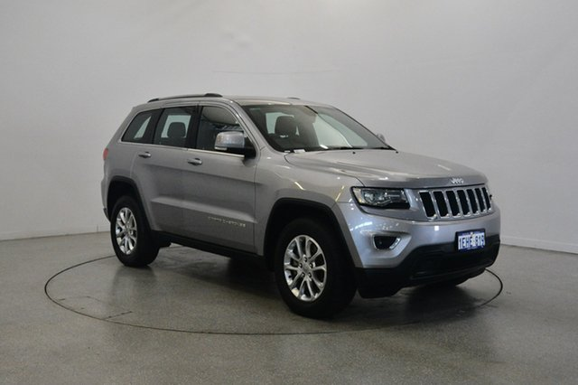 Used Jeep Grand Cherokee WK MY2013 Laredo, 2013 Jeep Grand Cherokee WK MY2013 Laredo Billet Silver 5 Speed Sports Automatic Wagon