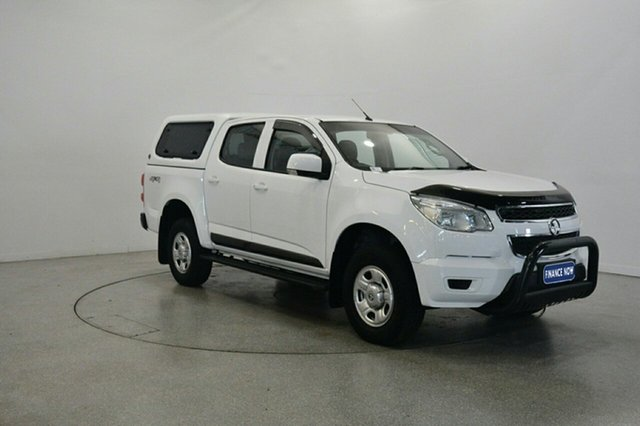 Used Holden Colorado RG MY16 LS Crew Cab, 2016 Holden Colorado RG MY16 LS Crew Cab White 6 Speed Manual Utility