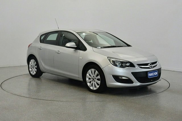 Used Opel Astra AS Select, 2012 Opel Astra AS Select Silver 6 Speed Manual Hatchback