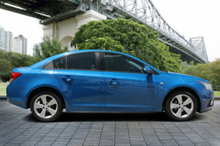 2013 Holden Cruze JH Series II MY13 Equipe Blue 6 Speed Sports Automatic Sedan.