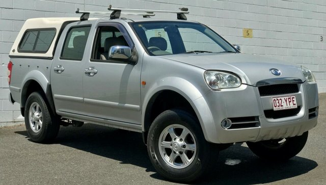 Used Great Wall V240 K2 Super Luxury, 2009 Great Wall V240 K2 Super Luxury Metallic Silver 5 Speed Manual Utility