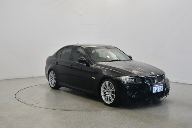 Used BMW 323i E90 MY10.5 Lifestyle Steptronic, 2010 BMW 323i E90 MY10.5 Lifestyle Steptronic Black 6 Speed Sports Automatic Sedan