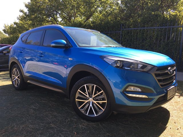 Used Hyundai Tucson TL Active X 2WD, 2015 Hyundai Tucson TL Active X 2WD Blue 6 Speed Sports Automatic Wagon