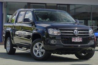 2014 Volkswagen Amarok 2H MY15 TDI420 4Motion Perm Highline Black 8 Speed Automatic Utility.