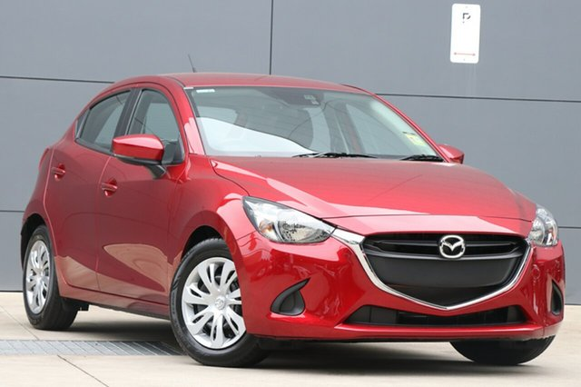 New Mazda 2 DJ2HAA Neo SKYACTIV-Drive, 2018 Mazda 2 DJ2HAA Neo SKYACTIV-Drive Soul Red Crystal 6 Speed Sports Automatic Hatchback