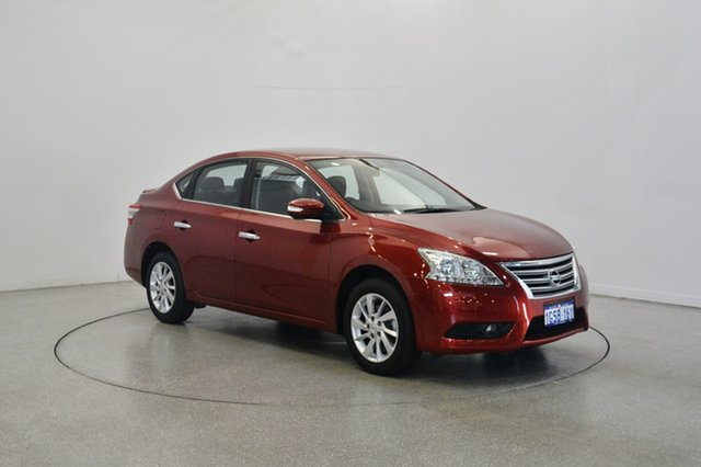 Used Nissan Pulsar B17 Series 2 ST-L, 2016 Nissan Pulsar B17 Series 2 ST-L Red 1 Speed Constant Variable Sedan