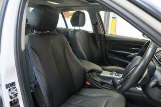 2012 BMW 320i F30 MY0812 White 8 Speed Sports Automatic Sedan