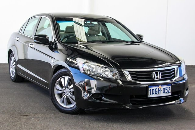 Used Honda Accord 50 VTi, 2009 Honda Accord 50 VTi Black 5 Speed Automatic Sedan