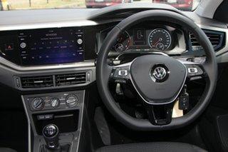 2018 Volkswagen Polo AW MY18 85TSI Comfortline Grey 6 Speed Manual Hatchback