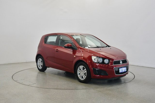 Used Holden Barina TM MY14 CD, 2014 Holden Barina TM MY14 CD Red 6 Speed Automatic Hatchback