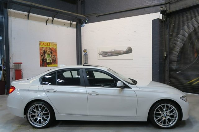 Used BMW 320i F30 MY0812 , 2012 BMW 320i F30 MY0812 White 8 Speed Sports Automatic Sedan