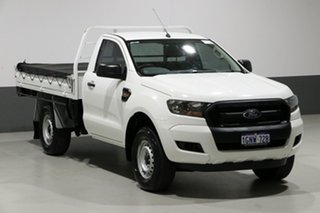 2017 Ford Ranger PX MkII MY17 Update XL 3.2 (4x4) White 6 Speed Manual Cab Chassis