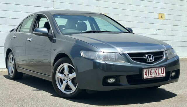 Used Honda Accord Euro CL Luxury, 2003 Honda Accord Euro CL Luxury Metallic Grey 6 Speed Manual Sedan