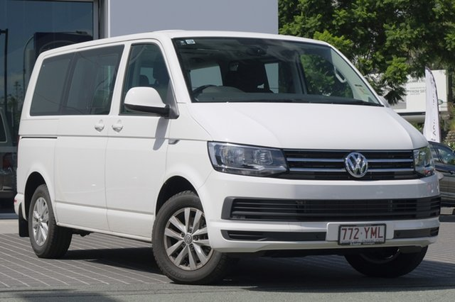 Demo Volkswagen Multivan T6 MY18 TDI340 SWB DSG Comfortline, 2018 Volkswagen Multivan T6 MY18 TDI340 SWB DSG Comfortline Candy White 7 Speed