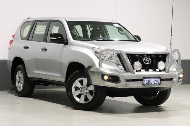 Used Toyota Landcruiser Prado KDJ150R MY14 GX (4x4), 2014 Toyota Landcruiser Prado KDJ150R MY14 GX (4x4) Silver 5 Speed Sequential Auto Wagon