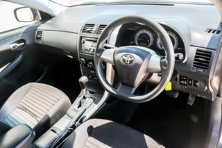 2012 Toyota Corolla ZRE152R MY11 Ascent 4 Speed Automatic Sedan