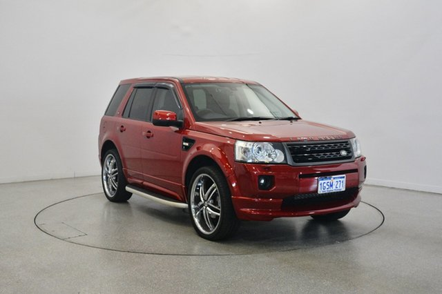 Used Land Rover Freelander 2 LF MY12 SD4 SE, 2012 Land Rover Freelander 2 LF MY12 SD4 SE Maroon 6 Speed Sports Automatic Wagon