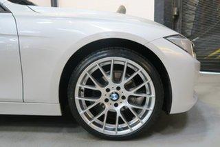2012 BMW 320i F30 MY0812 White 8 Speed Sports Automatic Sedan.