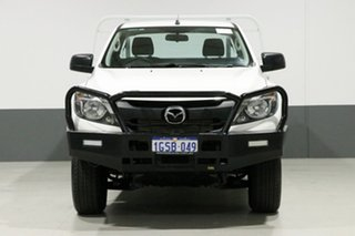 2017 Mazda BT-50 MY17 Update XT (4x4) White 6 Speed Automatic Cab Chassis.
