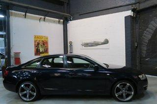 2006 Audi A6 4F MY07 Multitronic Blue 1 Speed Constant Variable Sedan.