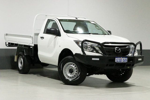 Used Mazda BT-50 MY17 Update XT (4x4), 2017 Mazda BT-50 MY17 Update XT (4x4) White 6 Speed Automatic Cab Chassis