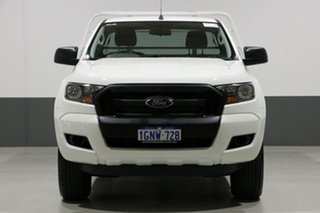 2017 Ford Ranger PX MkII MY17 Update XL 3.2 (4x4) White 6 Speed Manual Cab Chassis.