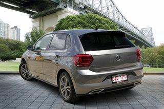 2018 Volkswagen Polo AW MY18 85TSI Comfortline Grey 6 Speed Manual Hatchback.