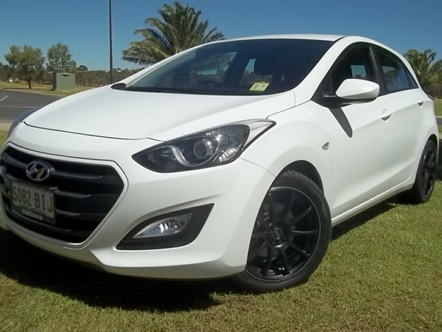 Used Hyundai i30 GD3 Series II MY16 Active, 2015 Hyundai i30 GD3 Series II MY16 Active White 6 Speed Sports Automatic Hatchback