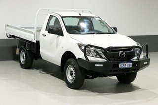2017 Mazda BT-50 MY17 Update XT (4x4) White 6 Speed Automatic Cab Chassis