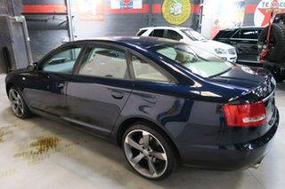 2006 Audi A6 4F MY07 Multitronic Blue 1 Speed Constant Variable Sedan