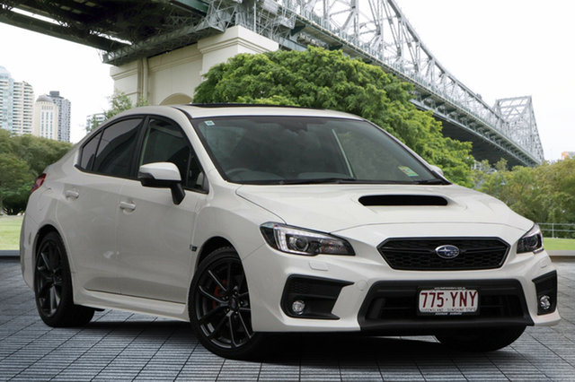 Demo Subaru WRX V1 MY19 Premium Lineartronic AWD, 2018 Subaru WRX V1 MY19 Premium Lineartronic AWD White Crystal 8 Speed Constant Variable Sedan