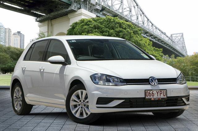 Used Volkswagen Golf 7.5 MY18 110TSI DSG Trendline, 2018 Volkswagen Golf 7.5 MY18 110TSI DSG Trendline White 7 Speed Sports Automatic Dual Clutch