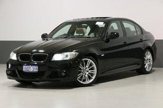 2010 BMW 335i E90 MY10 M Sport Black 6 Speed Auto Steptronic Sedan.