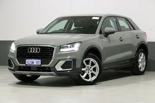 2017 Audi Q2 GA MY18 1.4 Tfsi Design Quantum Grey 7 Speed Auto S-Tronic Wagon.