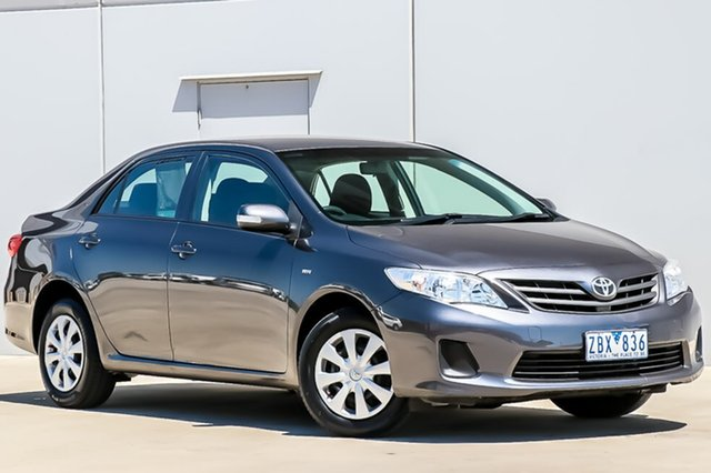 Used Toyota Corolla ZRE152R MY11 Ascent, 2012 Toyota Corolla ZRE152R MY11 Ascent 4 Speed Automatic Sedan
