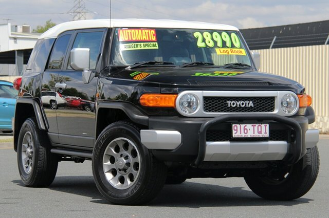 Used Toyota FJ Cruiser GSJ15R , 2012 Toyota FJ Cruiser GSJ15R Black 5 Speed Automatic Wagon