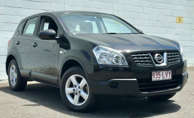 Used Nissan Dualis J10 MY2009 ST Hatch X-tronic, 2009 Nissan Dualis J10 MY2009 ST Hatch X-tronic Black 6 Speed Constant Variable Hatchback
