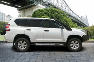 2013 Toyota Landcruiser Prado KDJ150R MY14 GX White 5 Speed Sports Automatic Wagon.