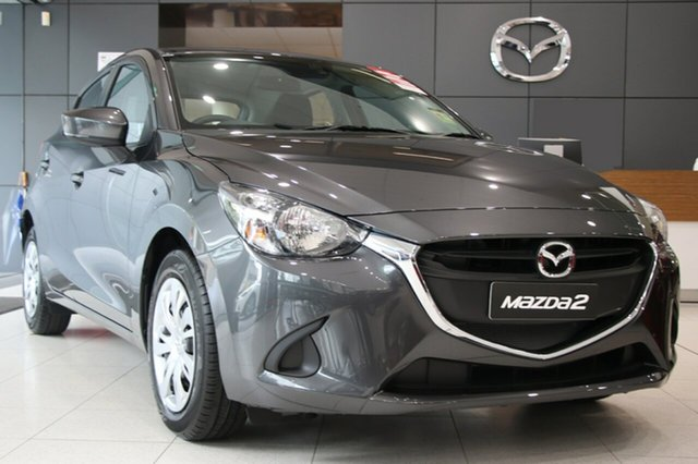 New Mazda 2 DJ2HAA Neo SKYACTIV-Drive, 2018 Mazda 2 DJ2HAA Neo SKYACTIV-Drive Machine Grey 6 Speed Sports Automatic Hatchback