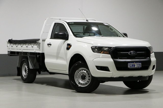 Used Ford Ranger PX MkII MY17 Update XL 3.2 (4x4), 2017 Ford Ranger PX MkII MY17 Update XL 3.2 (4x4) White 6 Speed Manual Cab Chassis