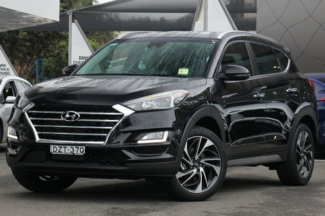 Demo Hyundai Tucson TLE3 MY19 Special Edition AWD, 2018 Hyundai Tucson TLE3 MY19 Special Edition AWD Phantom Black 8 Speed Sports Automatic Wagon