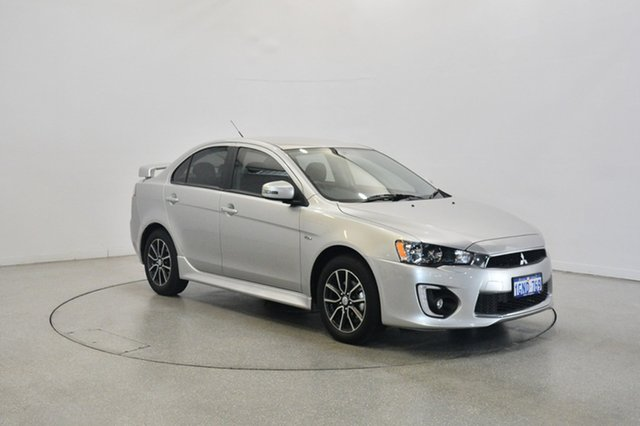 Used Mitsubishi Lancer CF MY17 ES Sport, 2017 Mitsubishi Lancer CF MY17 ES Sport Sterling Silver 6 Speed Constant Variable Sedan