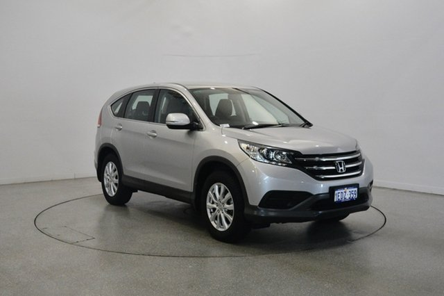 Used Honda CR-V RM VTi, 2012 Honda CR-V RM VTi Silver 6 Speed Manual Wagon
